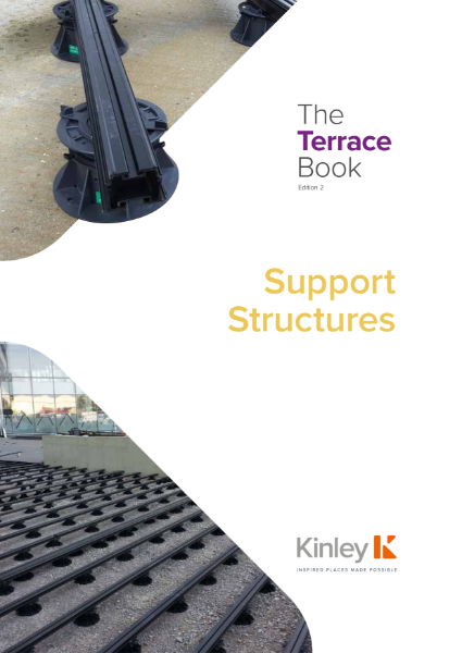 Kinley Roof Terrace Support Structure Joists and Adjustable Pedestals