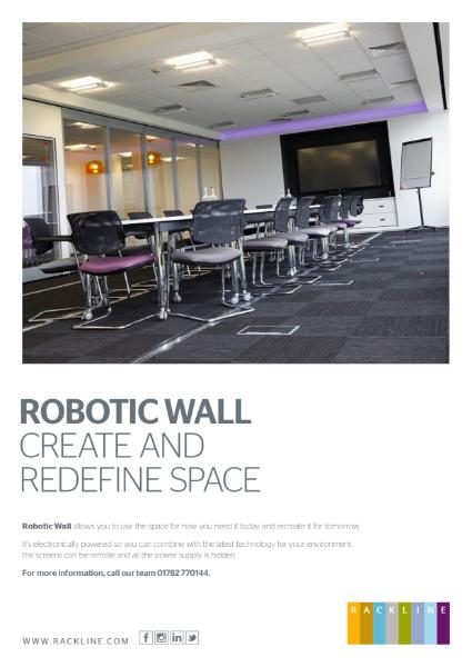 Robotic Sliding Wall - Datasheet