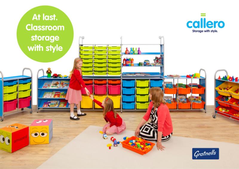 Gratnells Callero classroom storage