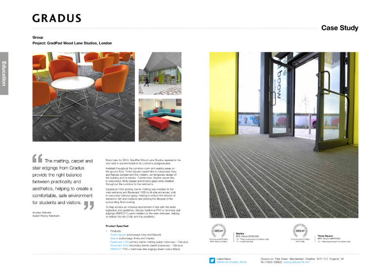 Gradpad Carpet Case Study
