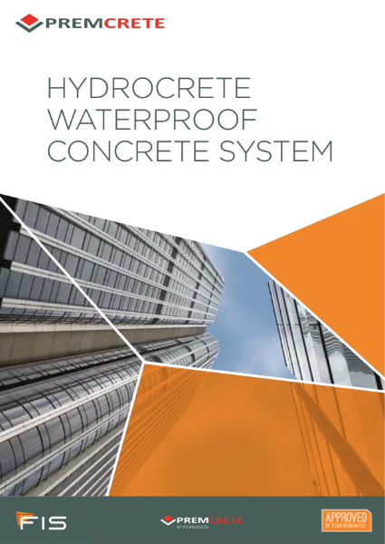 Hydrocrete Waterproof Concrete