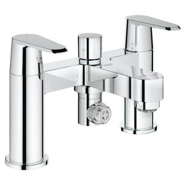 "Eurodisc Cosmopolitan Two-Handle Bath/ Shower Mixer 1/2"""