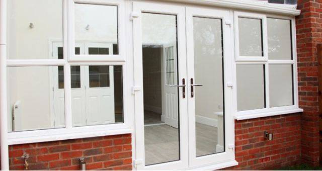 Aluminium Flush French Door