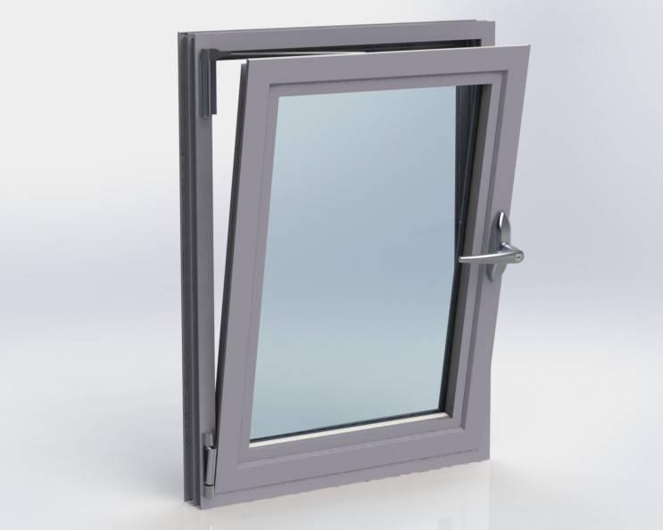 Kestrel Aluminium Systems 60mm polyamide window