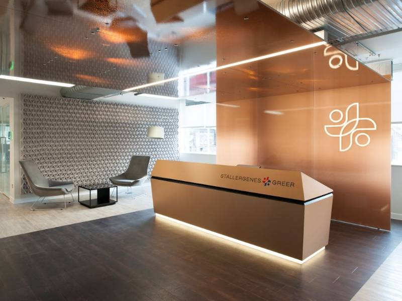 Expona SimpLay helps create high design office for Stallergenes Greer