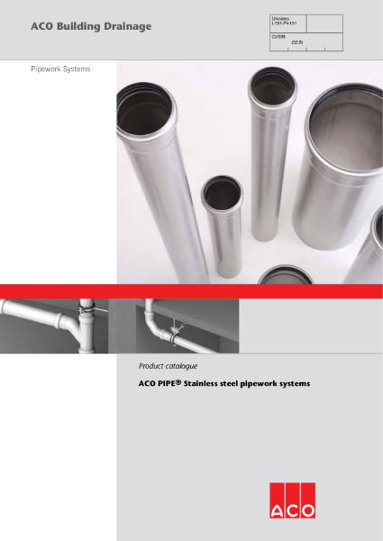 ACO Stainless Steel Pipe