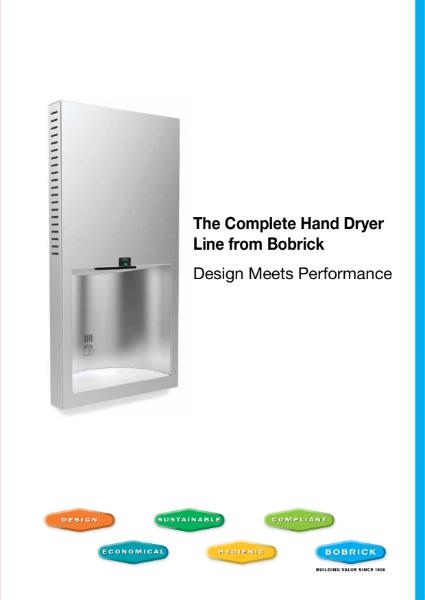 Bobrick Complete Dryer Line Brochure