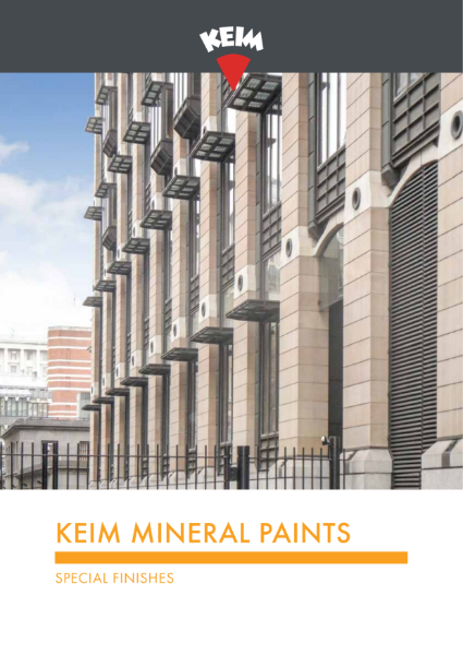 Keim Mineral Paints - Special Finishes Brochure