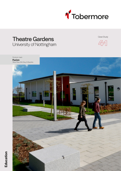 Featured project - Theatre Gardens University of Nottingham