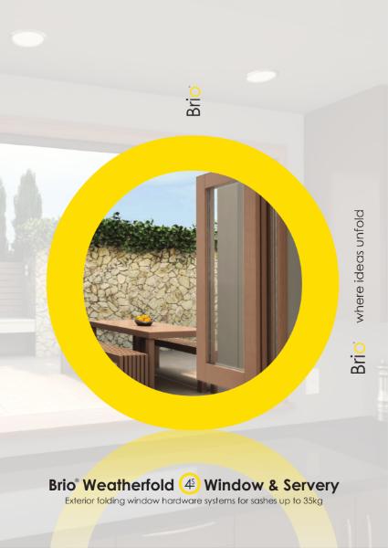 Brio®  Weatherfold Window & Servery