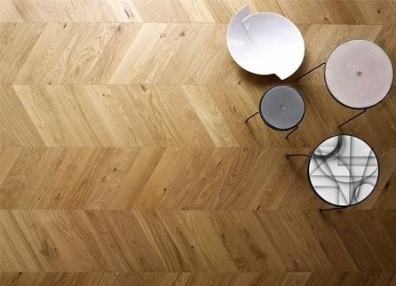 Atelier Collection - Chevron Engineered Hardwood Flooring