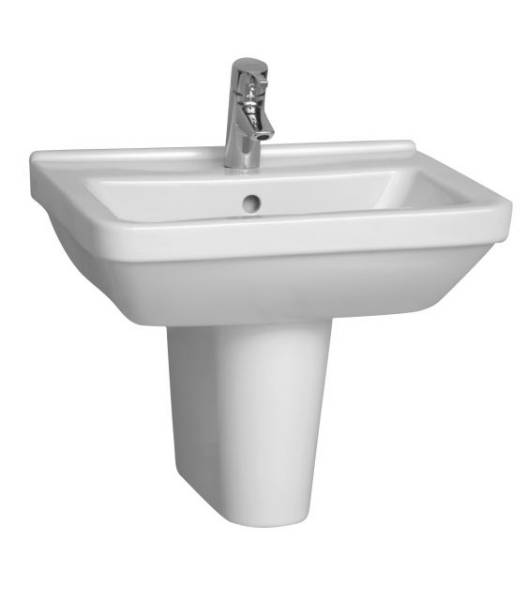 VitrA S50 Washbasin, 55 cm, Square, 5309