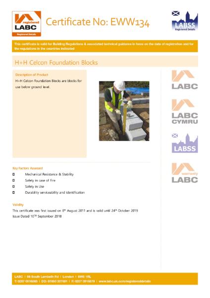 LABC Certification