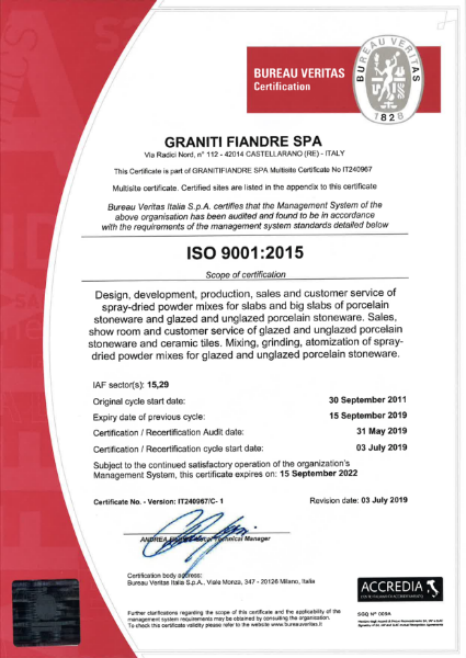 ISO NORM 9001:2015