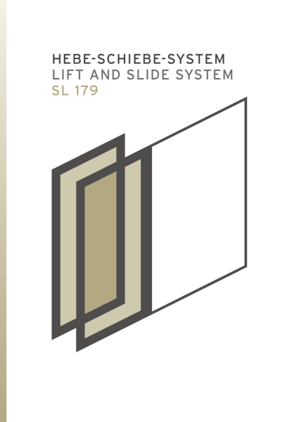 SL179 lift and slide system