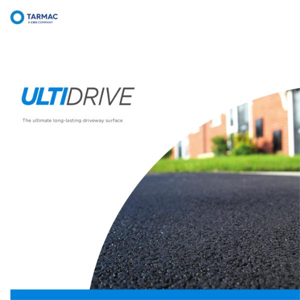 Asphalt for driveway surfacing and car parks - Ultidrive