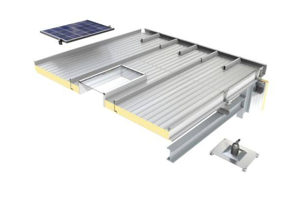 KingZip IP Standing Seam Roof Panel