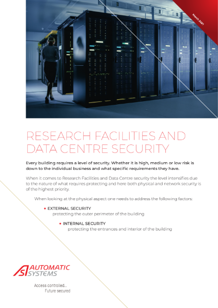 Data Centre and Research Facilities