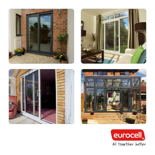 Inline Sliding PVC-U Patio Doors