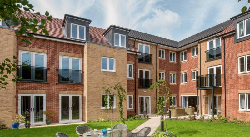 All-in-one balcony solutions supplied for luxury apartments in Blaby