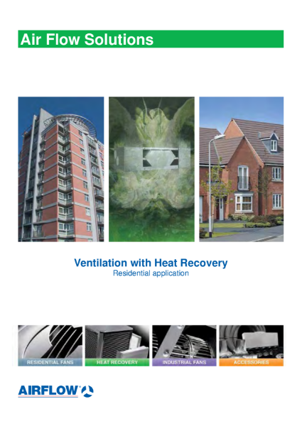 Residential Heat Recovery Units