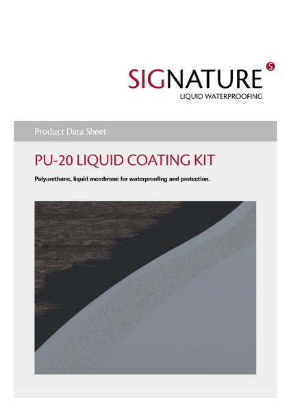 SIGnature PU20 Liquid Coating Datashset