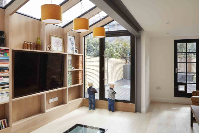 Bright New Space For Family Home