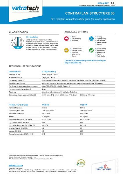 004. Contraflam Structure / Contraflam Structure Lite