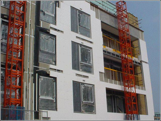 Epsitherm EPS External Wall Insulation System - Silicone Render Finish