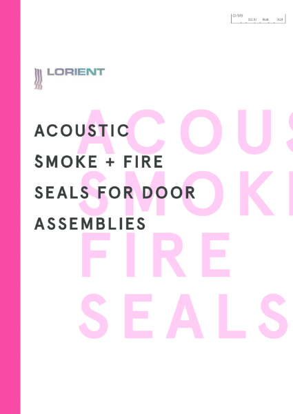 Acoustic Smoke and Fire Seals