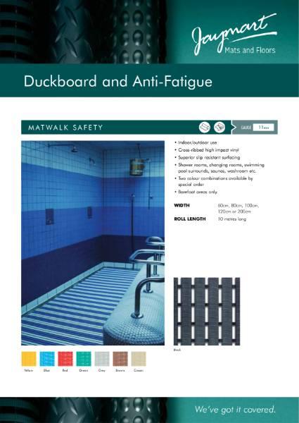 Duckboard & Anti-Fatigue Matting
