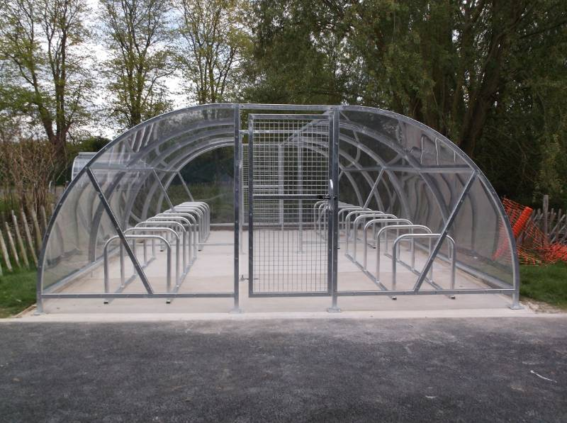 Canterbury Compound Bike Shelter