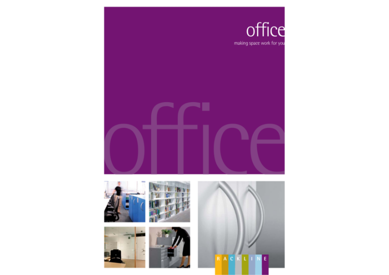 Office Brochure highlighting a portfolio of products