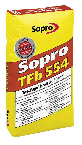 Sopro Grout TFb 554 – High Strength Tile Grout