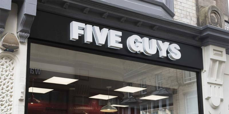 Five Guys - Commercial Kitchens