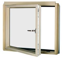 L-shaped Combination Window