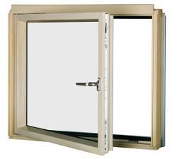 L-shaped Combination Window