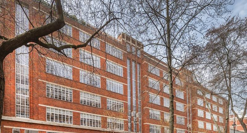 Clement steel windows selected for transformation of Art Deco office block into contemporary work space