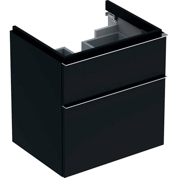 iCon cabinet for washbasin, with two drawers
