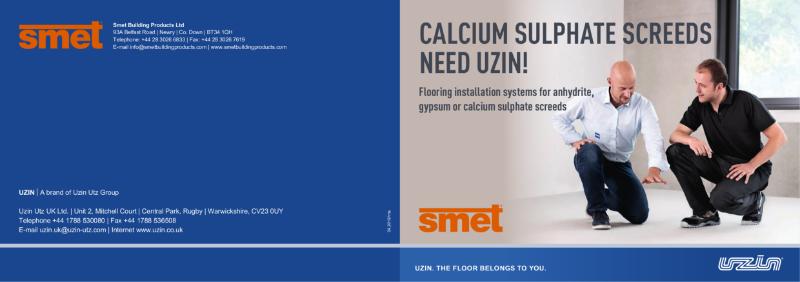 SMET | UZIN CA Screed Flooring Installations Brochure