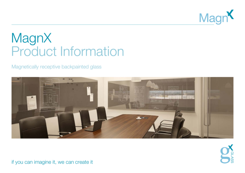 MagnX Magnetic Glass