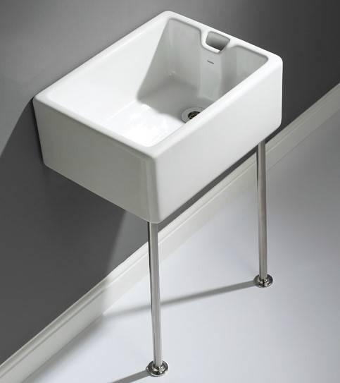 Belfast 60 cm sink including legs, bearers and waste