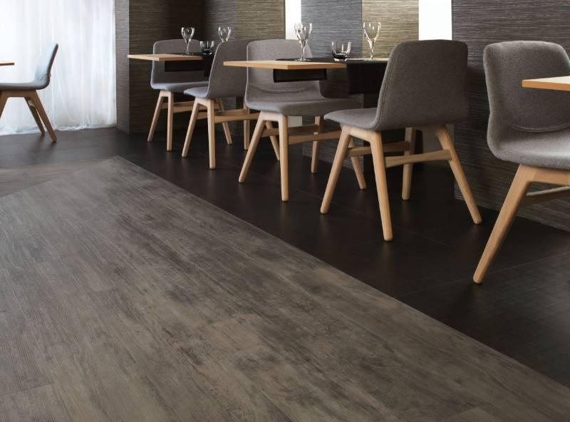 Spacia Design Tile (Wood)- PVC Tiles