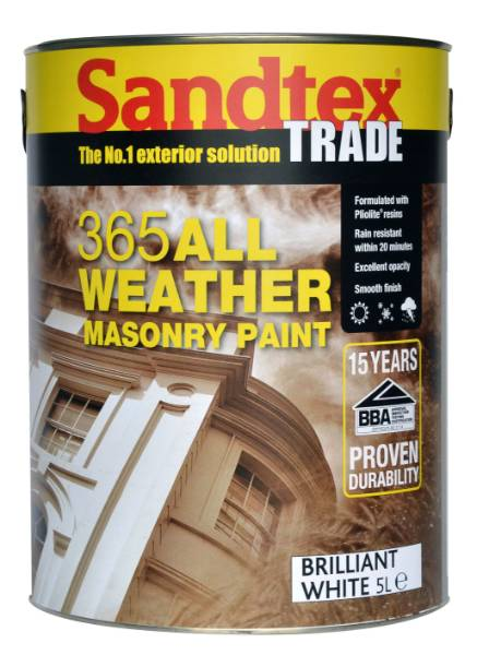 Crown Trade Sandtex Trade 365 All Weather - Masonry paint