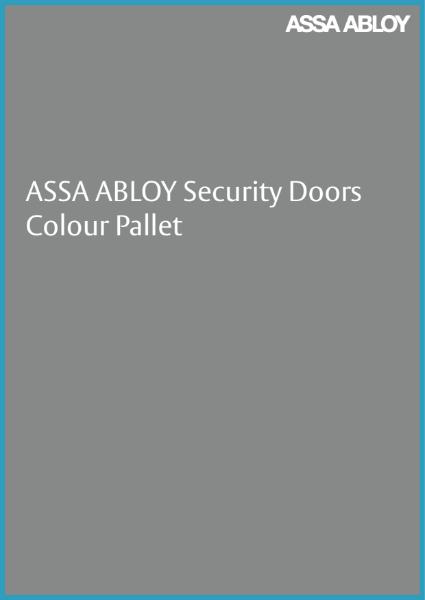Standard Colour Pallet