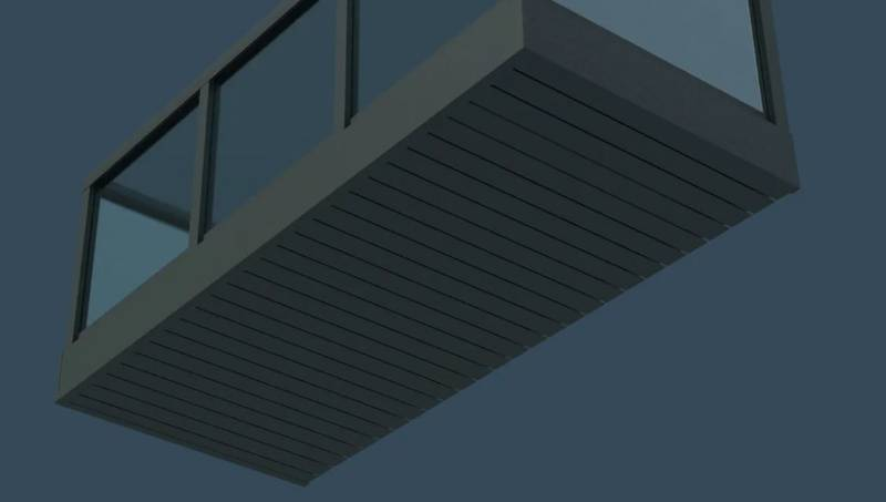 AliClad Lite Balcony Soffit Cladding from AliDeck