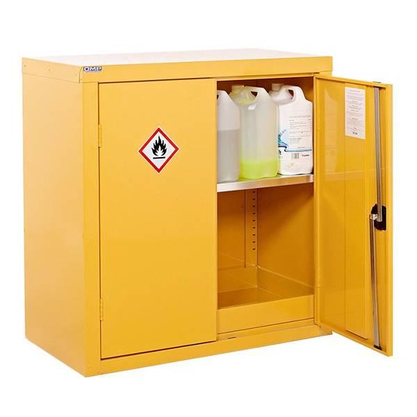 Hazardous Storage Cupboards (COSHH) Yellow
