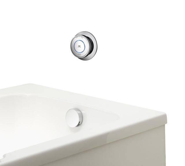 Quartz Classic Smart bath with overflow filler - GP