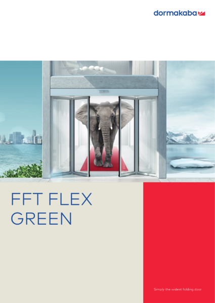 DORMA FFT FLEX GREEN - Automatic Folding Doors
