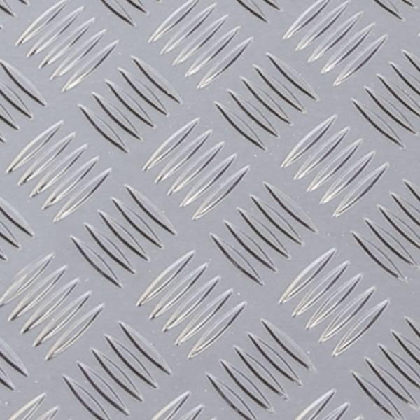 Aluminium Chequer Plate 5 Bar Tread